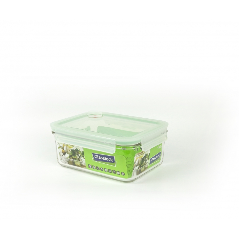 Glasslock Food Container Air Type, 1100ml (MCRB 110A)
