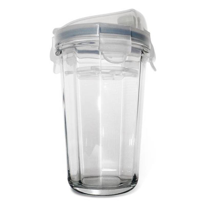 glasslock shaker aus geh rtetem glas transparentem. Black Bedroom Furniture Sets. Home Design Ideas