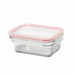 Replacement lid, rectangular 480ml, transparent (OCRT-048A)