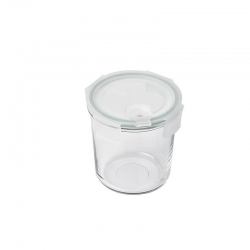 Replacement lid, round 720ml, transparent (MCCD-072A)