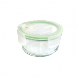 Replacement lid, round 400ml, transparent (MCCB-040A)