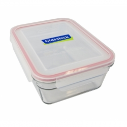 Replacement lid, rectangular 1730ml, transparent (OCRT-173)