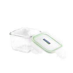 Replacement lids 210ml, transparent/green (MCSB-021)