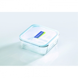 Replacement lid, square 2600 ml transparent/blue...