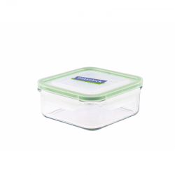 Replacement lid, square 900ml, transparent (MCSB-090)