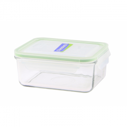 Replacement lid, rectangular 1100ml, transparent (MCRB-110)
