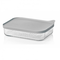 Replacement lid, rectangular 1050ml, grey (MCRB-113F-G)