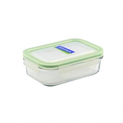 Replacement lid, rectangular 400ml, transparent ( MCRB-040)