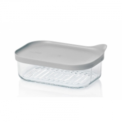 Replacement lid, rectangular 480ml, grey (MCRB-048F-G)