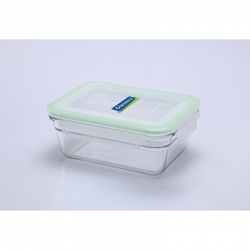 Replacement lid, rectangular 900ml, transparent grün (OCRT-090)