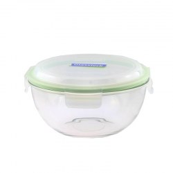 Replacement lid, round 2000ml, transparent green(MBCB-200)