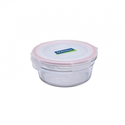 Replacement lid, round 450ml, transparent (OCCT-045)