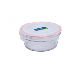 Replacement lid, round 850ml, transparent (OCCT-85)
