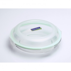 Replacement lid, round (plus) 1750ml, transparent green (MPCB-175)