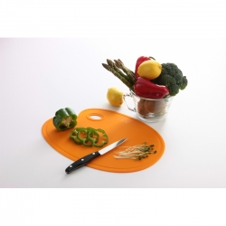 Food Palette Cutting Board Orange (380 x 265 x 2mm)