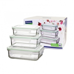 3 pcs Compact rectangular Set (GL-640)
