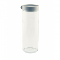 Glasslock, Block Canister rund, 1050ml grau (IP-609)