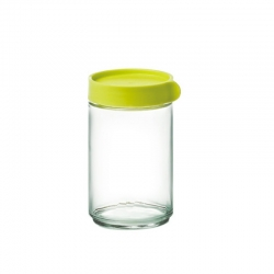 Glasslock, Block Canister rund, 600ml grün (IP-608)