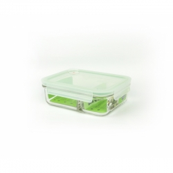 "Glasslock Food container ""Air Type"", 972ml (MCRB-092A)"
