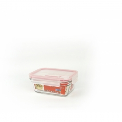 Glasslock Food container Air Type rectangular, 485ml (OCRT-048A)