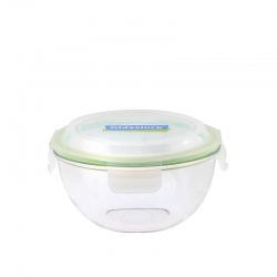 Replacement lid, round 4000ml, transparent green (MBCB-400)