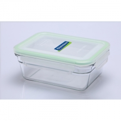 Replacement lid, rectangular 480ml, transparent (OCRT-48)