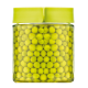 Block Canister round, 400ml, green (IP-607)