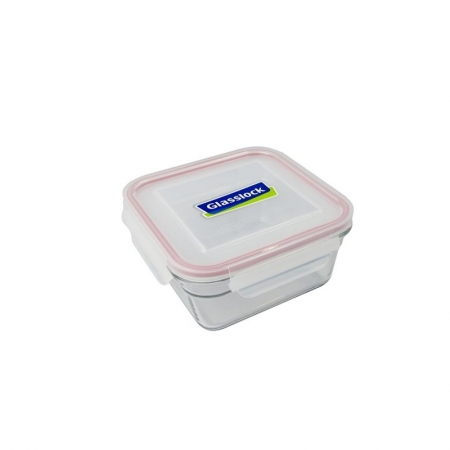 Replacement lid, square 900ml, transparent (OCST-090)