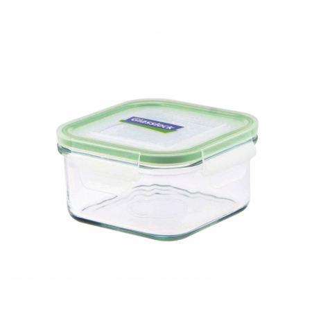 Replacement lid, square 490ml, transparent (MCSB-049)