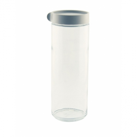 Block Canister round, 1050ml grey (IP-609)