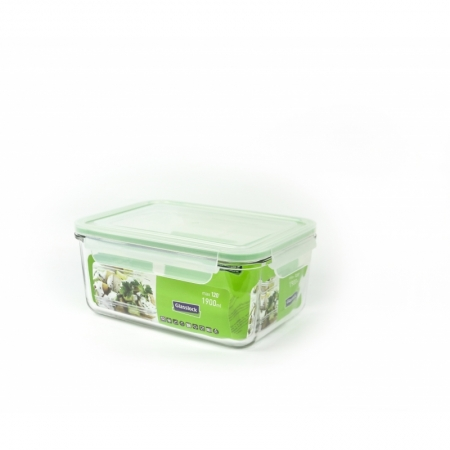 Glasslock Microwave rectangular, 1900ml (MCRB-190)