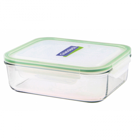 Replacement lid, rectangular 2000ml, transparent (MCRB-200)