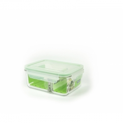 Glasslock Microwave rectangular - Duo type, 1000ml...