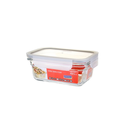 Glasslock oven safe, rectangular Fancy Line,  480ml,...