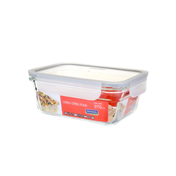 Glasslock oven safe, rectangular Fancy Line,  900ml,...