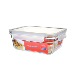 Glasslock oven safe, rectangular Fancy Line, 1730ml,...