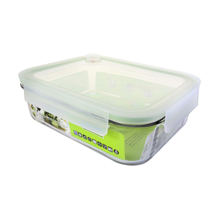Glasslock Container Air Type, 2000ml (MCRB-200A)