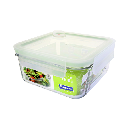 Glasslock Container Air Type, 1200ml (MCSB-120A)