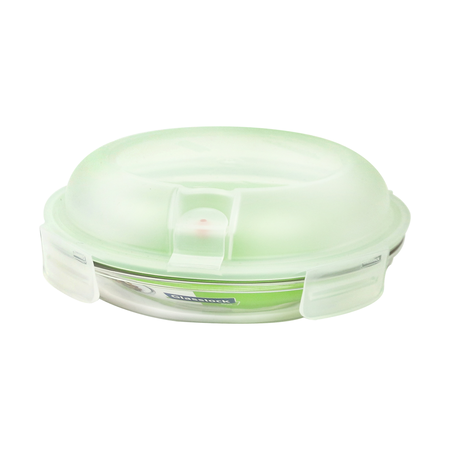 Glasslock Food container Set Air Type round plus, 800ml (MPCB-080A)