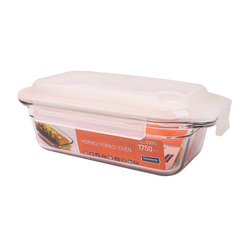 Glasslock Food container Set Air Type rectangular, 1750ml...