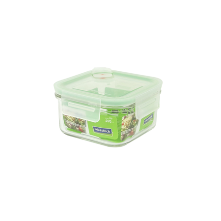 Glasslock Food container, Air-Type, 490ml (MCSB-049A)