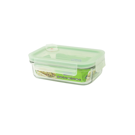 Glasslock boîte de conservation Air Type rectangulaire, 400ml (MCRB-040A)