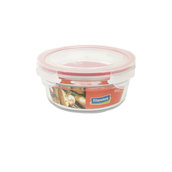 Glasslock Container, oven safe, round, red, 850 ml...